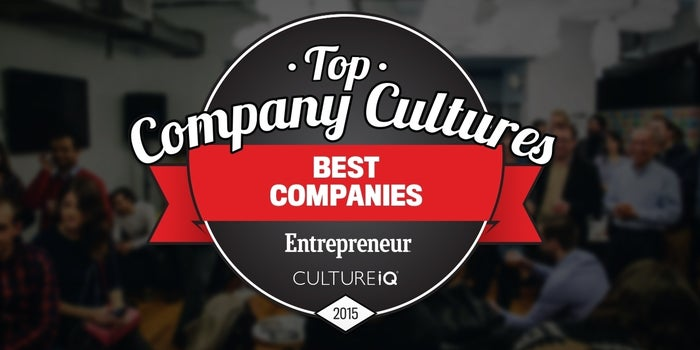 By the Numbers: Here's What It Takes to Be a Top Company Culture (Infographic)