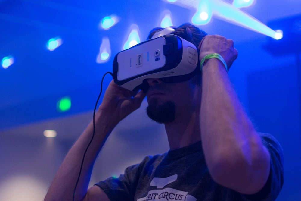 Virtual reality (and its accessories)