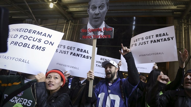 DraftKings Is Well-Positioned in Fight With NY's AG, Lawyer Says
