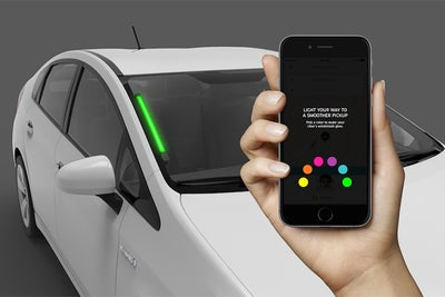 Uber Lights Up Drivers' Windshields to Help Customers Find Their Rides