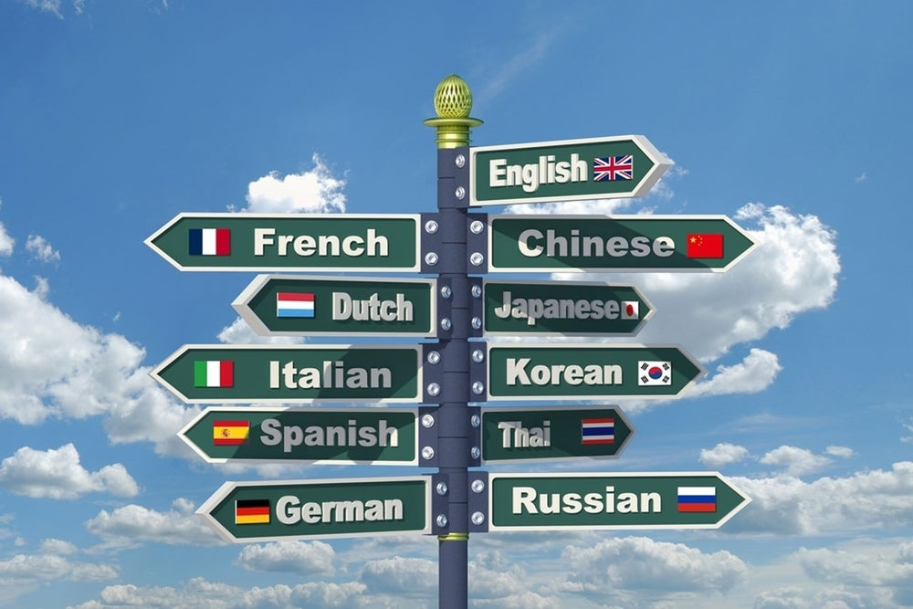 Familiarize yourself with a foreign language