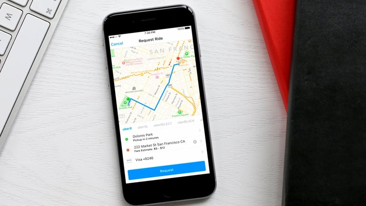 You Can Now Reserve an Uber Directly From Facebook's Messenger App