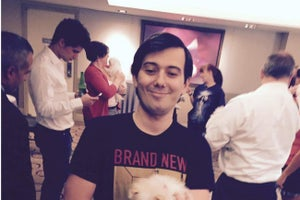 'Pharma Bro' Martin Shkreli Steps Down as CEO of Turing Pharmaceuticals