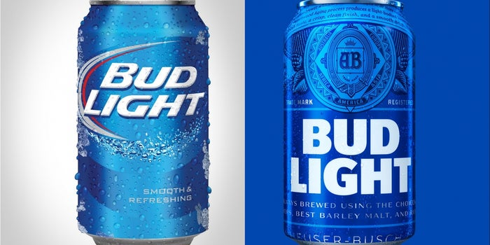 Bud light introduces new label but how effective can it actually be aloadofball Image collections