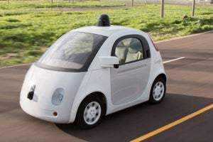 Google Is Testing Wireless Charging for Its Self-Driving Cars