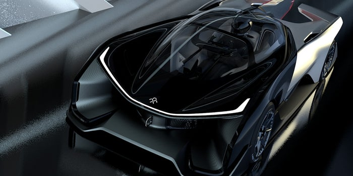 Faraday Future Shows Off Its Wild Electric Car Concept