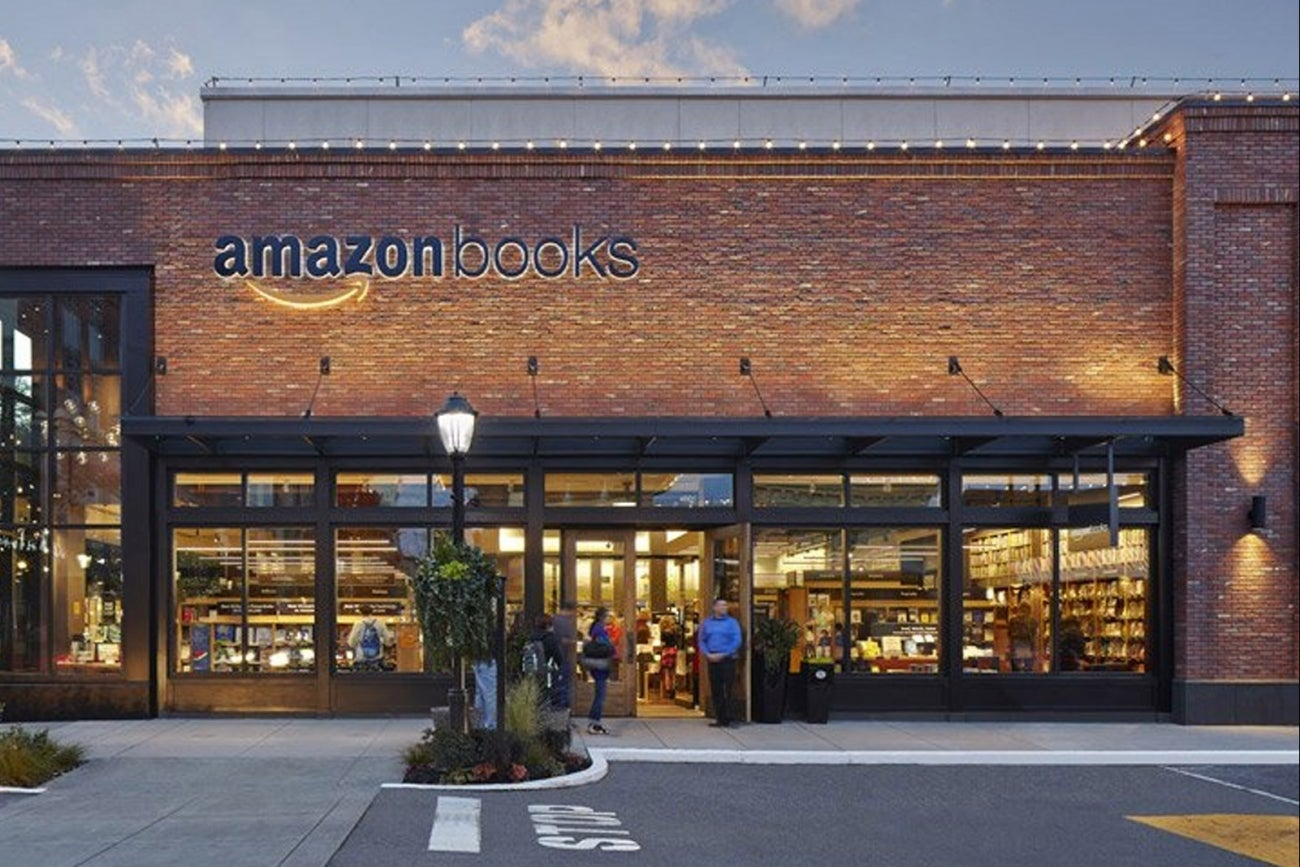 is amazons first brickandmortar bookstore the future of