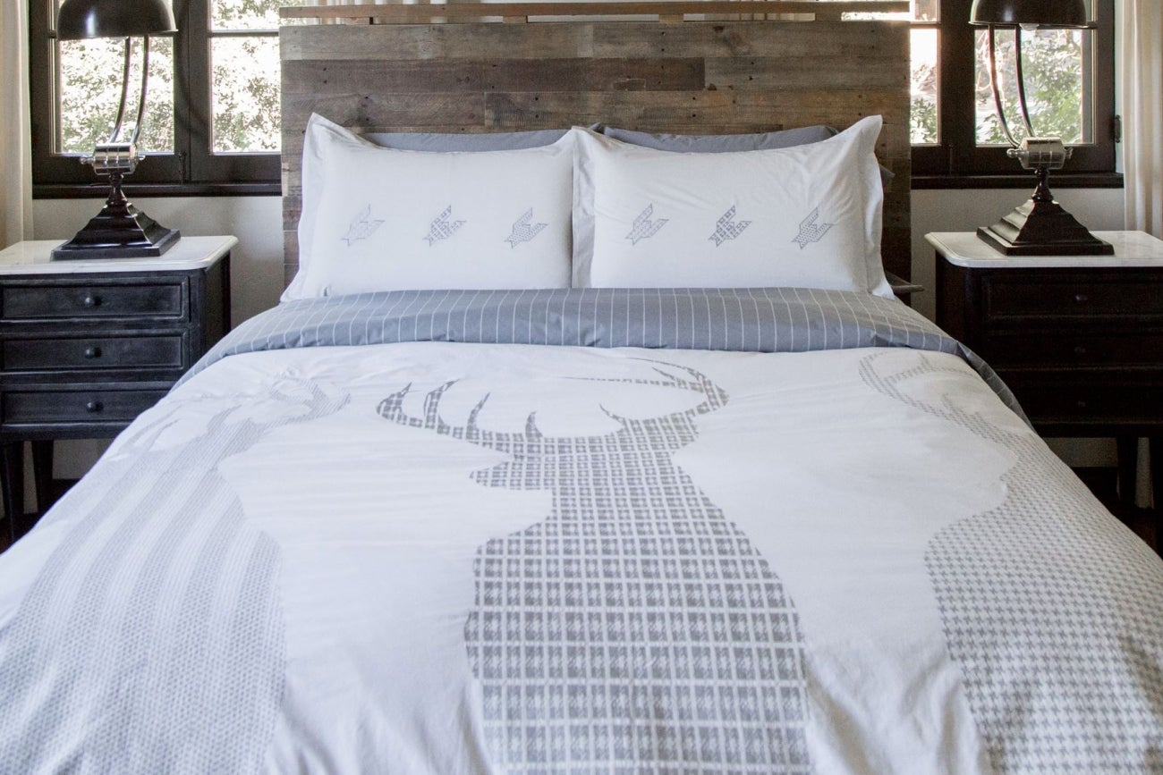Spectacular Bedding With a Masculine Bent This Founder Wants to Reinvent a Category for Men Again