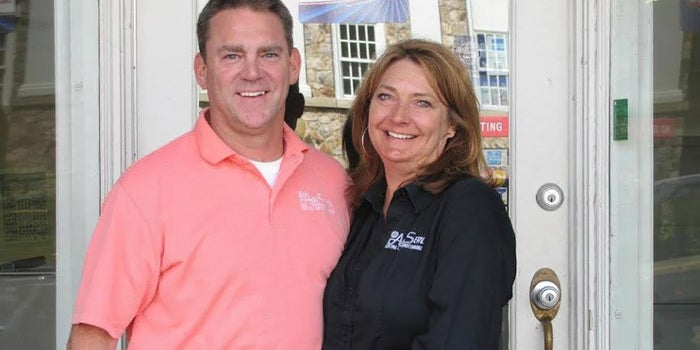 This Husband-and-Wife Franchise Team Are Playing It Cool With a Successful HVAC Business