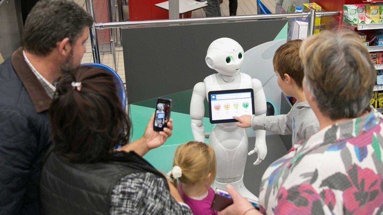 At This Store, Robots Will Replace Human Employees. But, Wow, They Are Adorable.