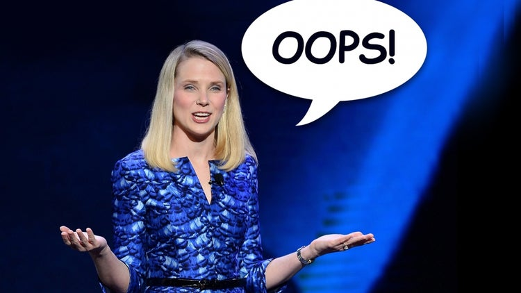 Yahoo Reportedly Fired a Bunch of Workers by Accident