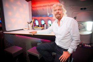 Richard Branson Explains Business Brilliance From His Self-Made Tropical Paradise