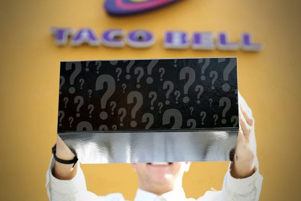Taco Bell's New Mystery Item: What Could It Be?