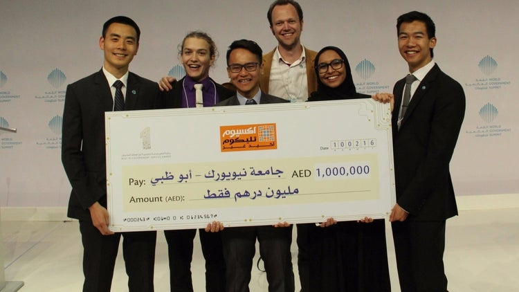Road Safety App By NYUAD Students Wins Top Honors At World Government Summit
