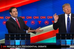 Did Rubio Knock Out Trump at Last Night's GOP Debate? -- Start Up Your Day Roundup