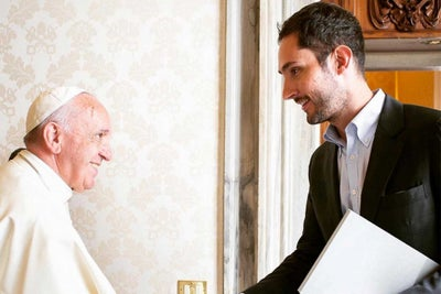 Instagram CEO Meets With the Pope to Discuss the Power of Images