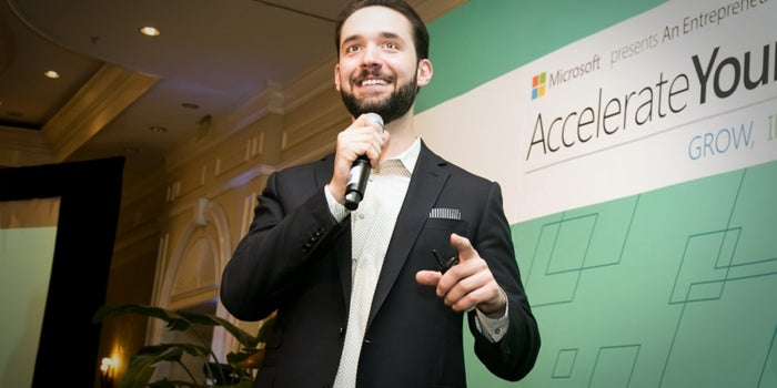 To Alexis Ohanian, Success Came After a Series of Setbacks
