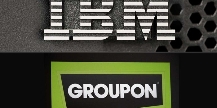 Groupon Sues 'Once-Great' IBM Over Patent
