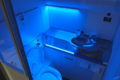 Germaphobes, Rejoice! Boeing Creates Airplane Bathroom That Cleans Its...