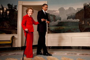 Here Is How Leaders and Influencers Reacted to Nancy Reagan's Death on Social Media