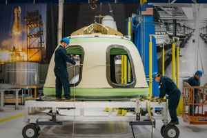 Jeff Bezos's Space Company Aims for Passenger Flights in 2018