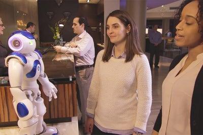 Meet Connie, the Robot Concierge at a Virginia Hilton