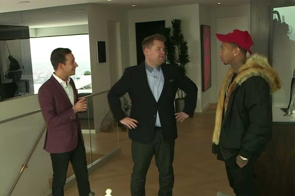Move Over, James Corden. Let the Professionals Take Care of Luxury Real Estate.