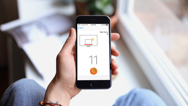 Brain Break: How to Find and Play the Basketball Game Hidden in Facebook Messenger