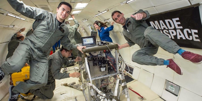 Now You Can Have Your Product Printed in Space