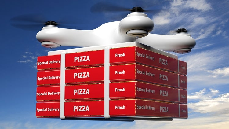 Food Ordering App Tests Drone Delivery in Singapore