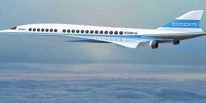 This Startup Will Develop Supersonic Planes for Virgin Group