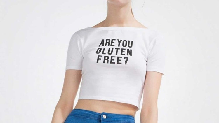 Zara Is the Latest Perpetrator of T-Shirt Outrage Thanks to a Gluten-Themed Crop Top