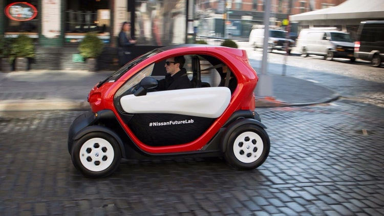 Nissan Thinks This Tiny Car May Be the Future of Urban Transportation