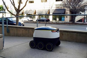 Say Hello to the Little Robot That Wants to Deliver Your Groceries