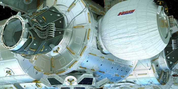 Could This Inflatable Habitat Be the Future of Space Tourism?