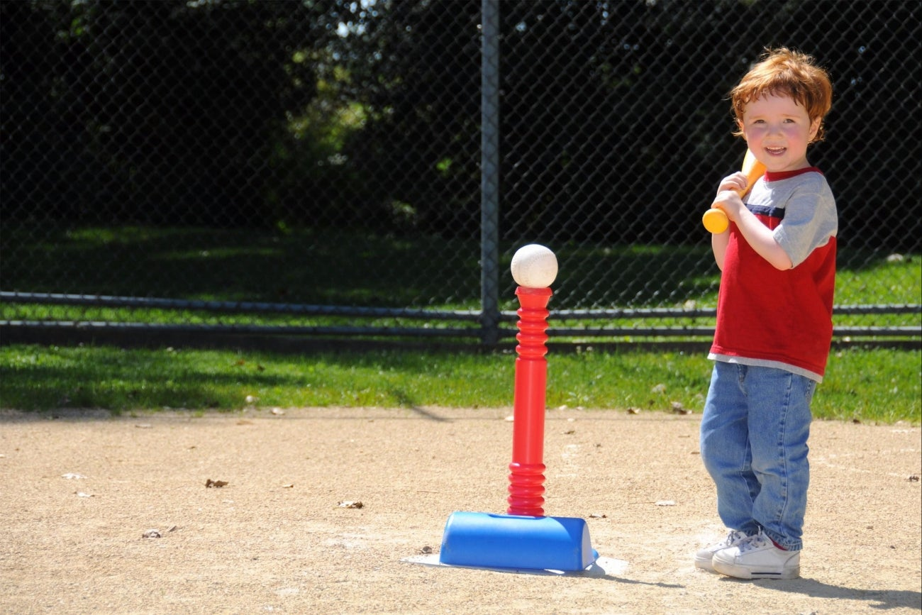 like a toddler hitting a tee ball an entrepreneur will fail