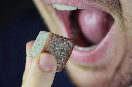 Too Busy for Your Morning Cup of Joe? Chew on These Caffeinated Cubes Instead.