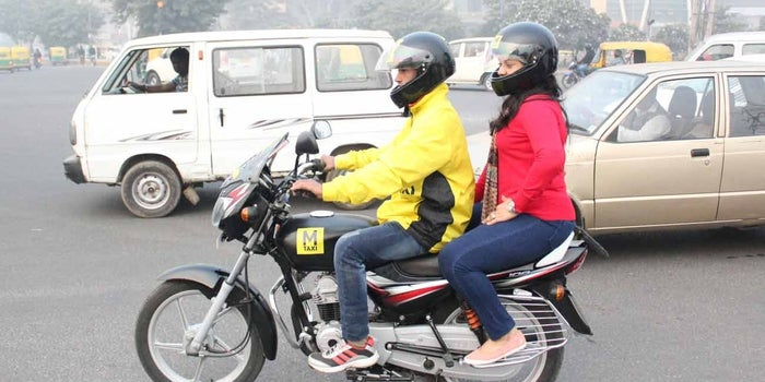 This Man's Passion for Bikes Has Given India its First Bike Taxi Service