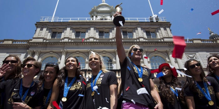 Even World Cup Winners Are Not Immune to the Gender Pay Gap