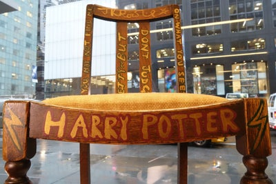 J.K. Rowling's Chair Fetches Eye-Popping Amount at Auction