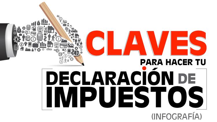 Infografía: Claves para presentar la declaración de impuestos