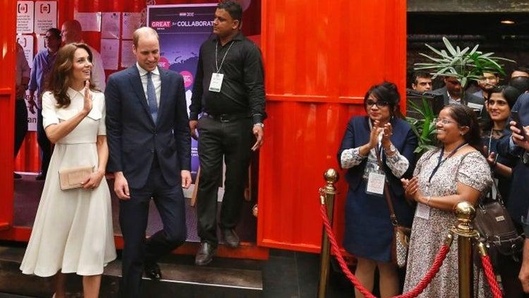 When Royalty Met Entrepreneurs