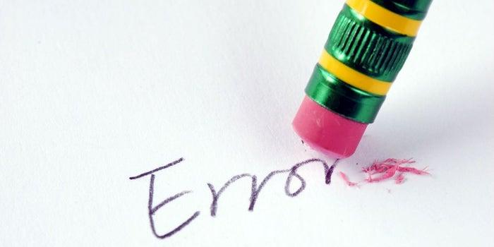 10 errores letales y cómo solucionarlos