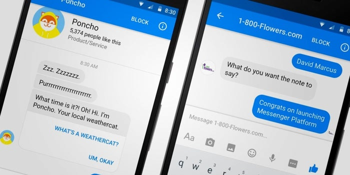 The Bots Are Coming -- to Facebook Messenger