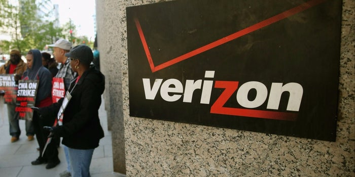 About 40,000 Verizon Unionized Workers Strike Over Contract Talks