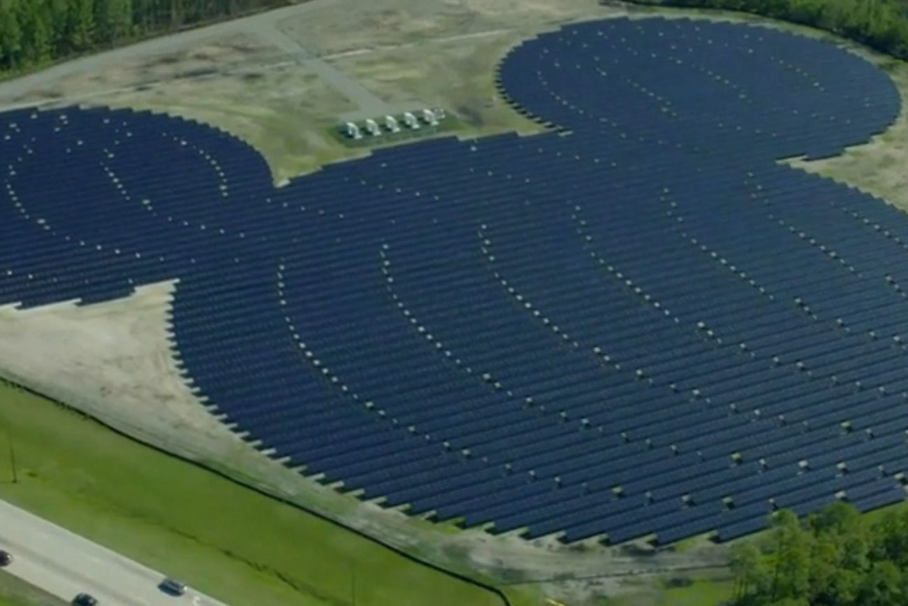 solar energy news topics disney world installs on brand solar panels in the shape of mouse ears