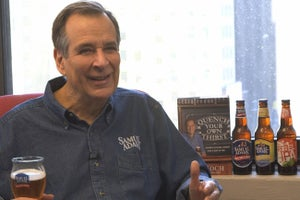 'You Never Have Enough!' Great Advice for Start Ups from Sam Adams Founder Jim Koch