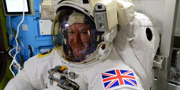 British Astronaut Tim Peake Is Running the London Marathon From Space