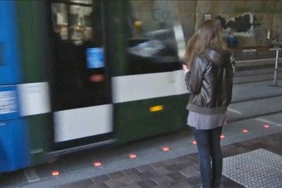 German City Designs Traffic Lights for Oblivious Pedestrians