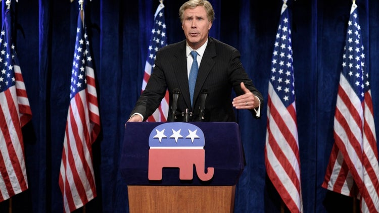 Will Ferrell to go Full Republican?
